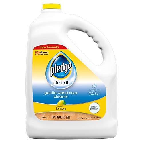 Pledge Wood Floor Cleaner Liquid, Shines Hardwood, Removes Dirt