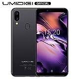 UMIDIGI A3 (2019), Smartphone Pas Cher 4G Ecran 5,5 Pouces Android 9.0 Pie, 2 Nano SIM + 1 MicroSD Téléphone Portable Débloqué, Quad-Core MT6739, 2Go + 16Go (Extensible à 256Go), Batterie 3300mAh