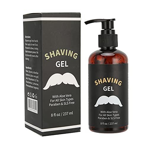 Men'S Shave Gel, Mens Beard Care Shaving Cream, Soften...