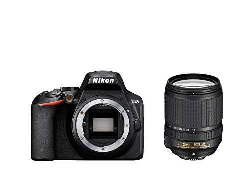 Nikon D3500 Fotocamera Reflex Digitale con Obiettivo Nikkor AF-S 18/140VR, 24.2 Megapixel, LCD 3'