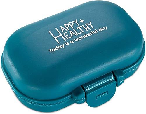 Boîte Organisateur de Pilule - Boite de Transport de Médicament à 4...