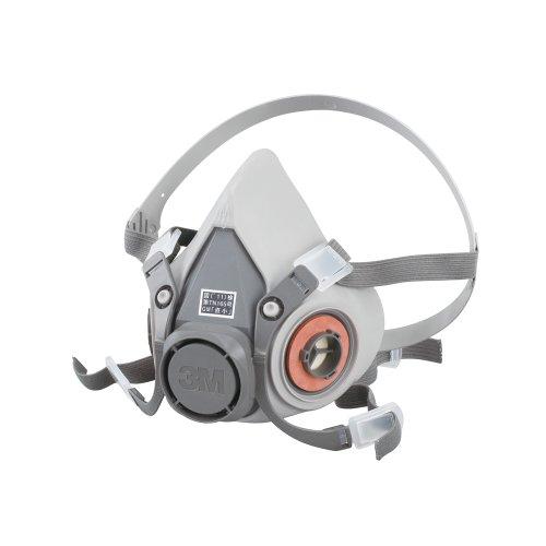 3M 防毒マスク 半面形面体 6000 ラージ 国家検定合格品 6000L
