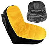 Riding Lawn Mower Seat Cover Compatible with John Deere,Craftsman,Cub Cadet,Kubota,Universal Lawn Mower Tractor Cover(Medium)