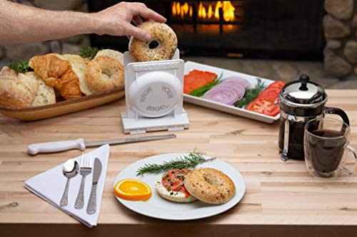 HalveYourBagel's Pro Safe Bagel and Bread Slicer