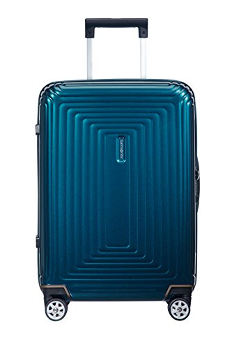 Samsonite Neopulse - Spinner S (Breite: 23 cm) Handgepäck, 55 cm, 44 L, blau (Metallic Blue)