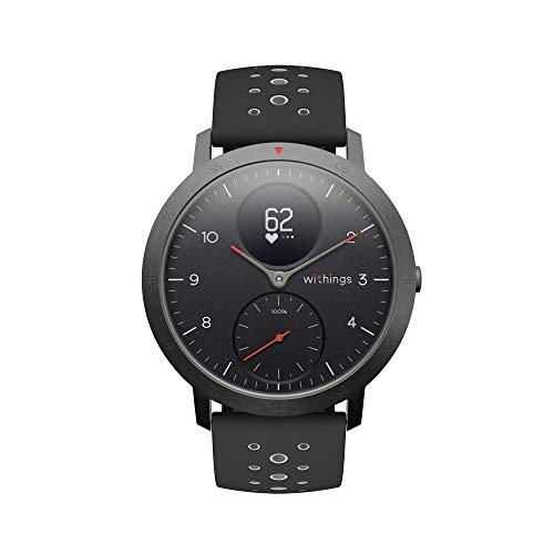 Withings Steel HR Sport - Reloj inteligente híbrido multideporte con...