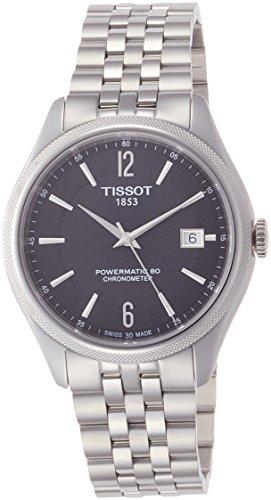 Tissot Herren-Uhren Analog Automatik One Size Edelstahl 87424189