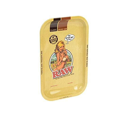 Unbekannt 18600 RAW - Bandeja para liar, 27,5 x 17,5 cm, color beige