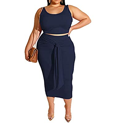Lightweight, breathable, soft and stretchy to wear, show your best curve. Gradient multicolor printed backless slim fit club party 2 piece midi pencil dress outfits clubwear. Feature: summer 2 piece bodycon dresses, sleeveless, scoop neck tank top cr...