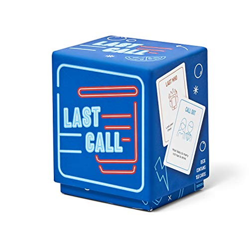 Last Call Drinking Game for Adults -...