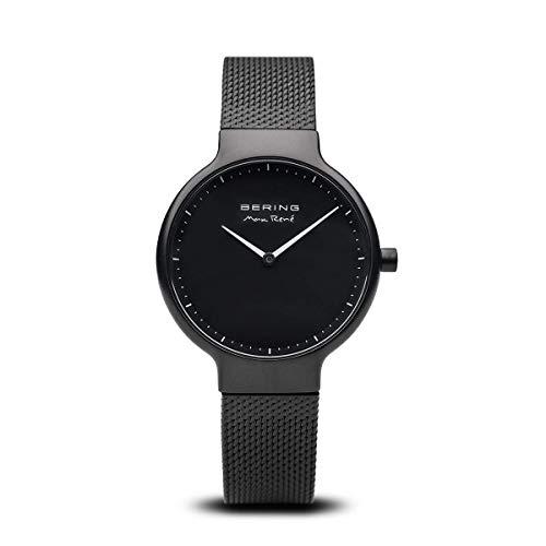 BERING Damen-Armbanduhr Analog Quarz Edelstahl 15531-123