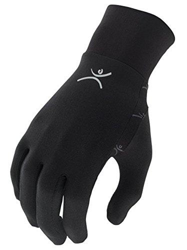 Terramar Adult Thermolator II Glove Liner (Black, Medium)