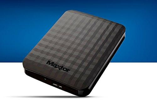 stshx m401tcbmMaxtor M34TB HDD Portatile m3, 4TB, 236G, 82mm w x 118.2mm L x 19.85mm H (Max),...