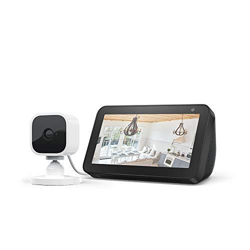 Echo Show 5, Noir + Blink Mini Caméra, fonctionne avec Alexa