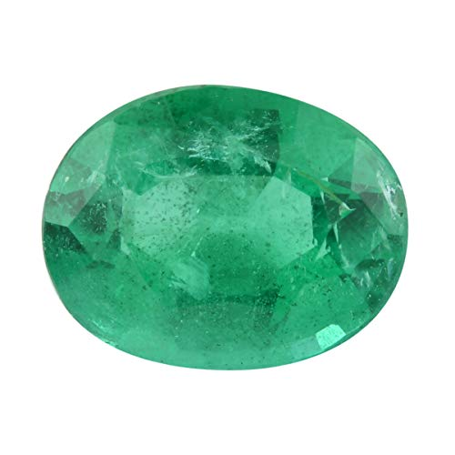 Shop LC AAAA Kagem Zambian Emerald Ovl Shape Rare Premium...