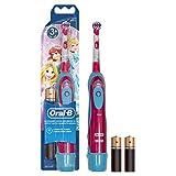Oral-B Brosse à Dents à Piles pour Enfant Cars ou Princesses de Disney...