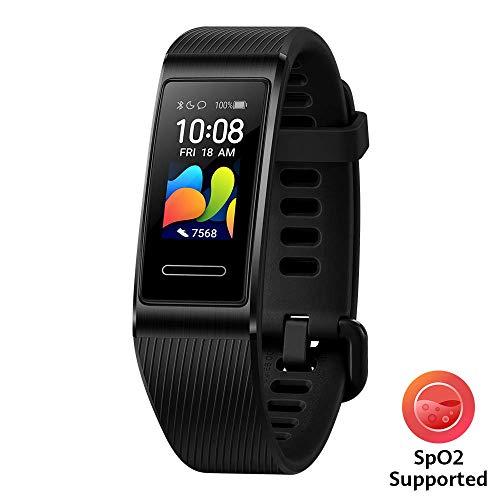 Huawei Band 4 Pro Fitness-Aktivitätstracker (All-in-One Smart Armband, Herzfrequenz- und Schlafüberwachung, eingebautes GPS, farbenreiches Touch Display, 5 ATM wasserfest) schwarz