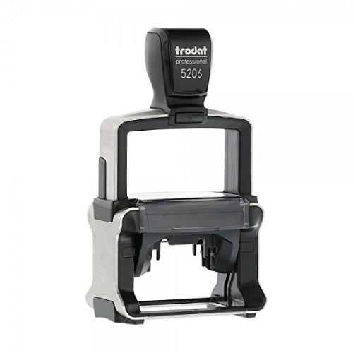 Trodat Professional 5206 Custom (nur Text / 56x33 mm - 5 Zeilen) incl. individueller Textplatte