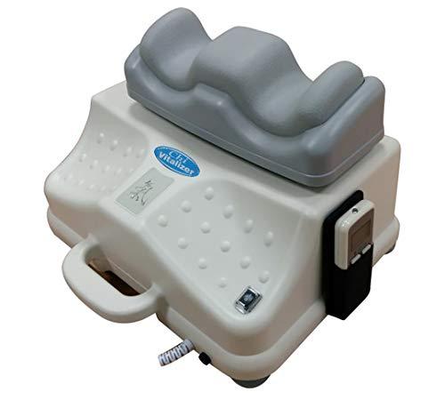 chi-enterprise Chi Vitalizer Remote I neues Modell - Chi-Massage-Gerät mit kabelloser Fernbedienung - 3 Programme - sehr leise I vitalisierende Chi-Maschine mit Fuß-Polster I Qualitäts-Chi-Gerät