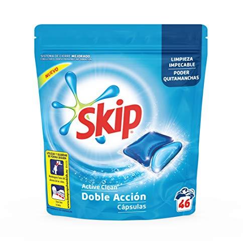 Skip - Detergente Capsulas Active Clean (46 Lav)