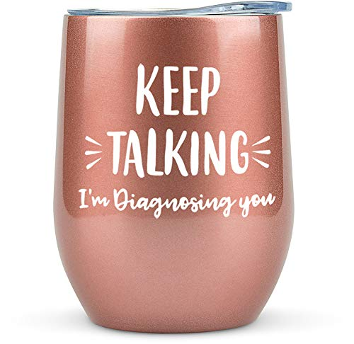 Psychology Gifts - Tumbler/ Mug 12oz for Wine, Coffee or Any...
