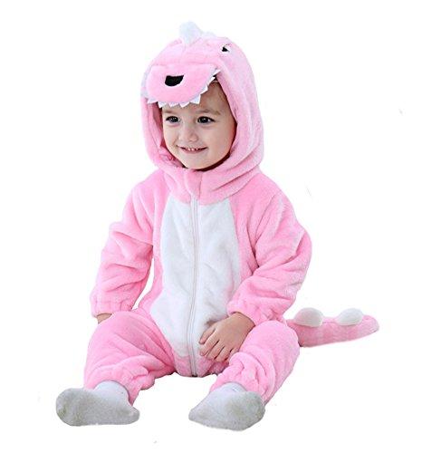 Tonwhar Disfraz de dinosaurio tigre para niños pequeños