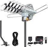 Outdoor Antenna - Amplified Digital HDTV Antenna 150 Miles Range 360...