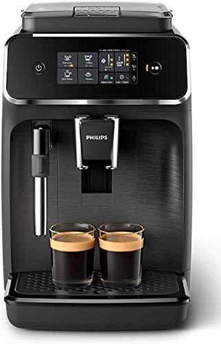 Philips Serie 2200 EP2220/10 Macchina da Caffè Automatica, 2 Bevande, con Macine in Ceramica,...