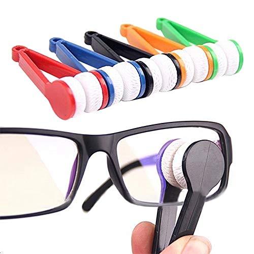 efsdhg 1pcs Mini Bicchieri di Pulizia Cura Occhiali Prodotti per la Pulizia in Microfibra Decorazione del Giardino Cucina di casa per Vacanza per Famiglie