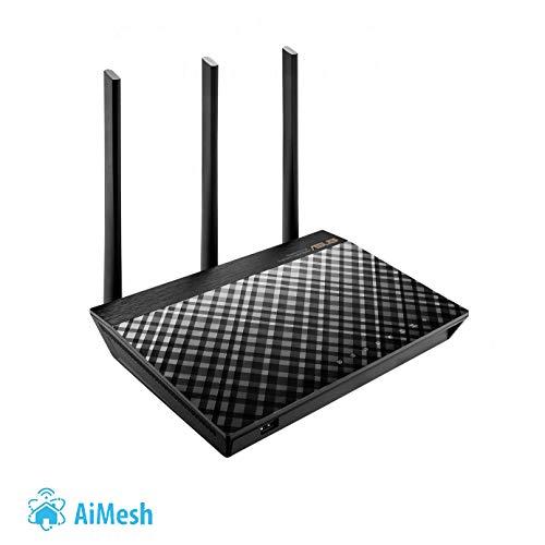 ASUS RT-AC66U - Router inalámbrico AC1750 Dual-band Gigabit (punto de...