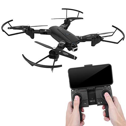 Quadricottero, giroscopio a 6 assi Quadcopter pieghevole a 4 canali per la fotografia(Black 2.4G 1080P, Insect)