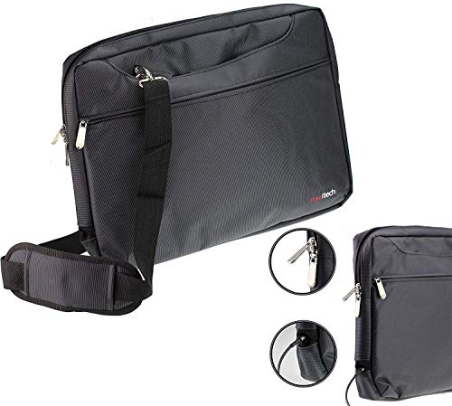 Navitech Black Graphics Tablet Case/Bag Compatible with The HUION KAMVAS GT-191 V2