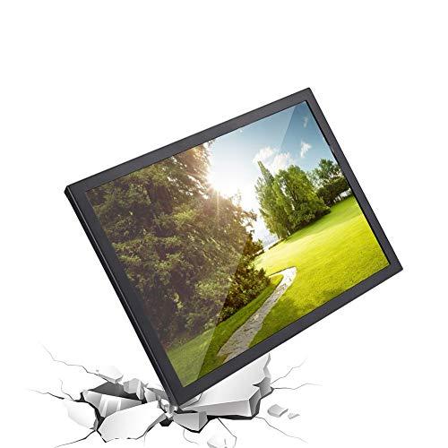 Monitor da 15 Pollici, 4: 3 1024 x 768 Monitor TFT Full HD con Schermo Portatile Supporta VGA/HDMI/AV/BNC per PC/TV/CCTV/videocamera/Sicurezza/Computer/Drone/Raspberry Pi