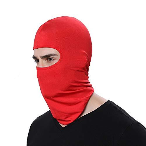 YUHUALI Passamontagna caldo in pile termico mimetico Cappuccio invernale da sci Cappe da sci Cappelli Cappelli da bicicletta Maschere tattiche per moto