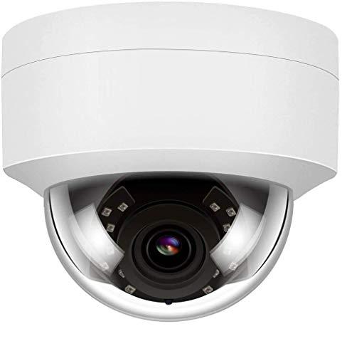 4K 8MP HD Telecamera IP POE IR Visione Notturna IP Telecamera di sicurezza Outdoor Interno, Rilevazione di Movimento Impermeabile H.265 Onvif con Audio(microfono)