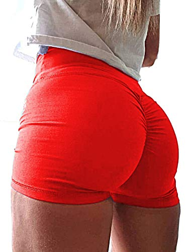SEASUM Wome n Sports Short Booty Sexy Lingerie Gym Running Lounge...