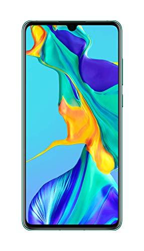 Huawei P30 Smartphone débloqué 4G (6,1 pouces 6/128Go Double Nano SIM Android 9) Bleu aurora