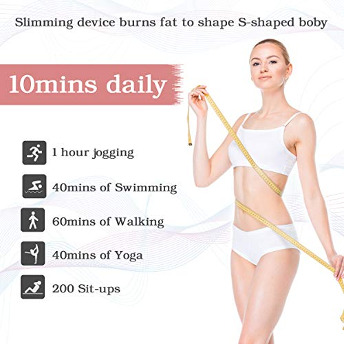 Fat Burn Machine Full Body Shaping Machine Fat Remover Machine Fat Burning Machine Chest Massager for Belly Waist Leg 7