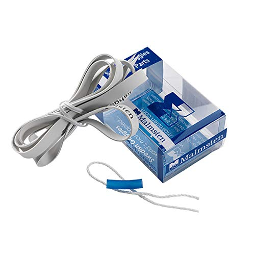 MALMSTEN, Kit di Ricambio per occhialini svedesi, Unisex, Colore Bianco, Taglia Unica