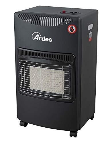 Ardes AR382 Boxer Stufa a Gas GPL a Infrarossi 3 Potenze con Accensione Piezo Elettrica Vano Porta...