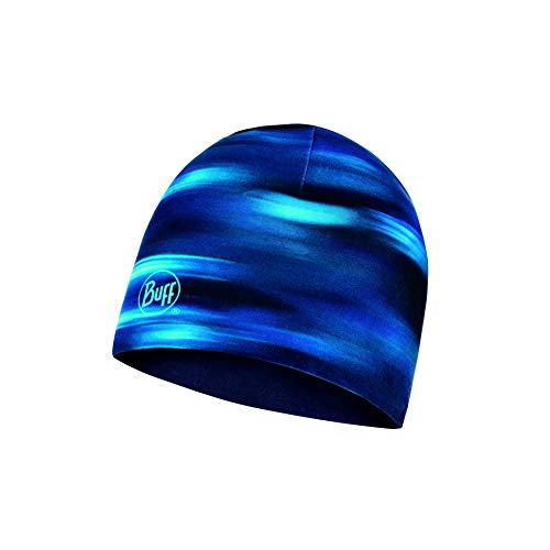 Buff Men's Microfiber Reversible Hat Shading Blue, One Size