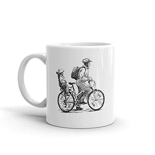 Dozili Mug à café humoristique en céramique Motif voyageurs ou motard...