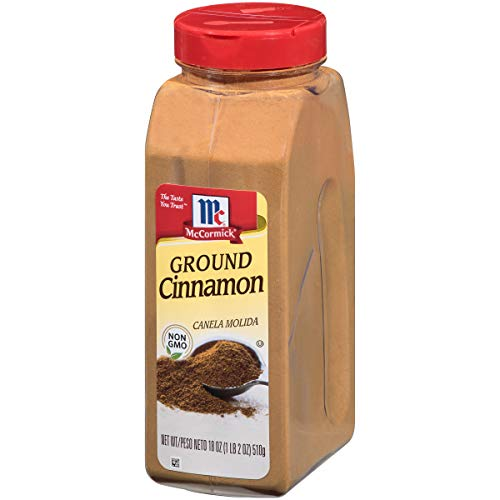 McCormick Ground Cinnamon, 18 Ounce (Pack of 1)