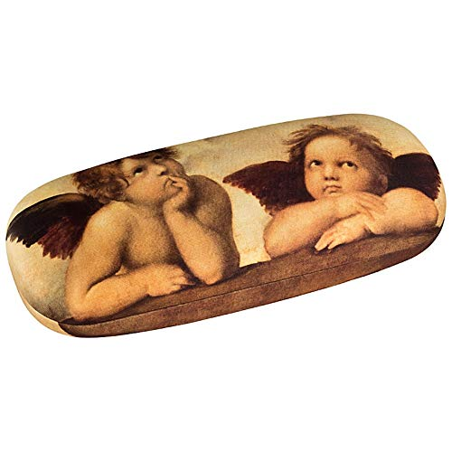 VON LILIENFELD Portaocchiali Donna Motivo Arte Raffaello: Angeli