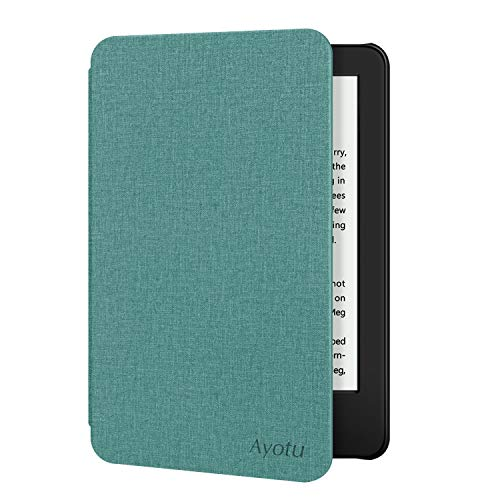 Ayotu Case for All-New Kindle 10th Gen 2019 Release - Durable Cover with Auto Wake/Sleep fits Amazon All-New Kindle 2019(will not fit Kindle Paperwhite or Kindle Oasis) Mint Green