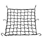 COFIT Filet à Bagages pour Motos Vélos Corde élastique 40 x 40 cm avec 6 Crochets Transport de...