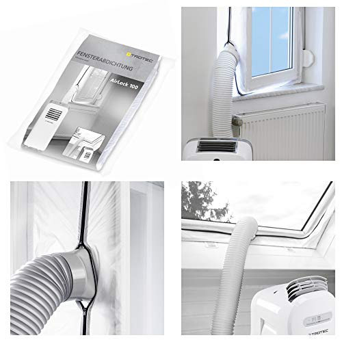 TROTEC AirLock 100 guarnizione per finestre | per climatizzatori ed essiccatori con scarico esterno...