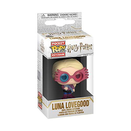 Funko Pop! Keychain: Harry Potter – Luna Lovegood, Multicolor