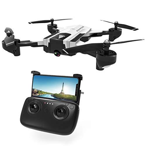 Viesky Drone SG900 RC con Telecamera 4K HD FPV WiFi Flusso Ottico RC Quadcopter Elicotteri Aerei con...