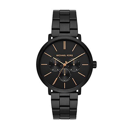 Michael Kors Men's Blake Quartz Watch with Stainless Steel Strap,...